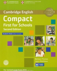 Cambridge English Compact First for Schools - Second Edition - Student's Book without Answers with CD-ROM