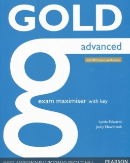 Gold Advanced Exam Maximiser with Key - with 2015 Exam Specifications