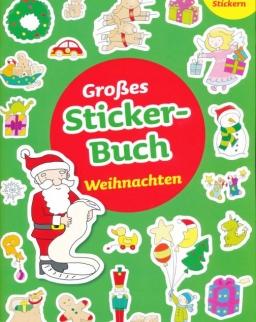 Großes Sticker-Buch. Weihnachten