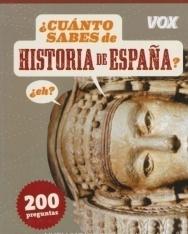 Cuanto sabes de Historia de Espana? 200 preguntas con soluciones