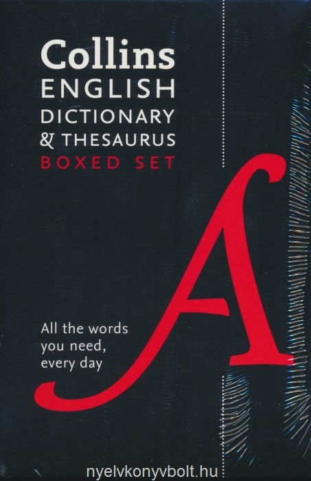 Collins English Paperback Dictionary and Thesaurus Set, 2nd Edition