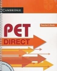 Cambridge PET DIRECT Teacher's Book with Class Audio CD