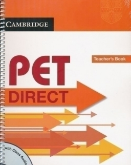 Cambridge PET DIRECT Teacher's Book with Class Audio CD