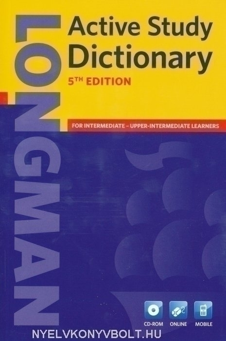 Longman Active Study Dictionary 5th Edition with CD-ROM