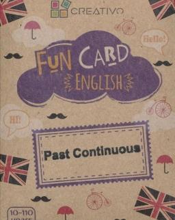 Fun Card English: Past Continuous