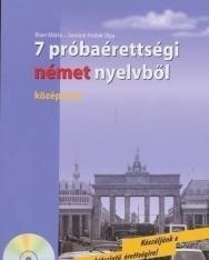 7 próbaérettségi német nyelvből - középszint - Audio CD-vel