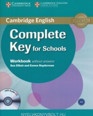 Complete Key for Schools Workbook without Answers & Audio CD
