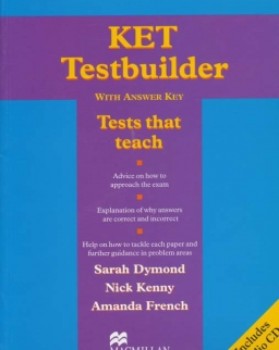 KET Testbuilder with Key and Audio CDs