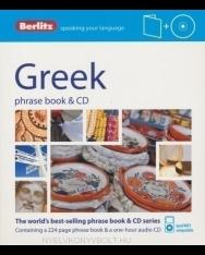 Berlitz Greek phrase book & CD