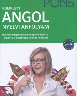 Pons Komplett Angol Nyelvtanfolyam A1-A2 - Tankönyv, hanganyag és online feladatok