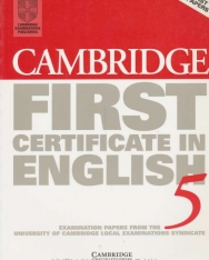 Cambridge First Certificate in English 5 Examination Papers Student's Book