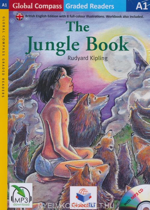 The Jungle Book with MP3 Audio CD- Global ELT Readers Level A1