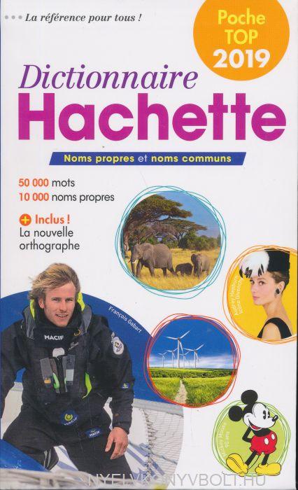 Dictionnaire Hachette Poche Top 2019