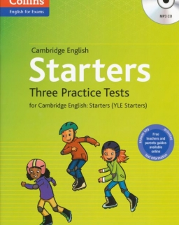 Cambridge English Starters Three Practice Tests with Answer Key & Mp3 CD