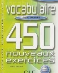 Vocabulaire 450 nouveaux exercices Débutant Livre+corrigés