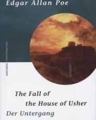 Edgar Allan Poe: Der Untergang des Hauses Usher. The Fall of the House of Usher - német-angol kétnyelvű kiadás