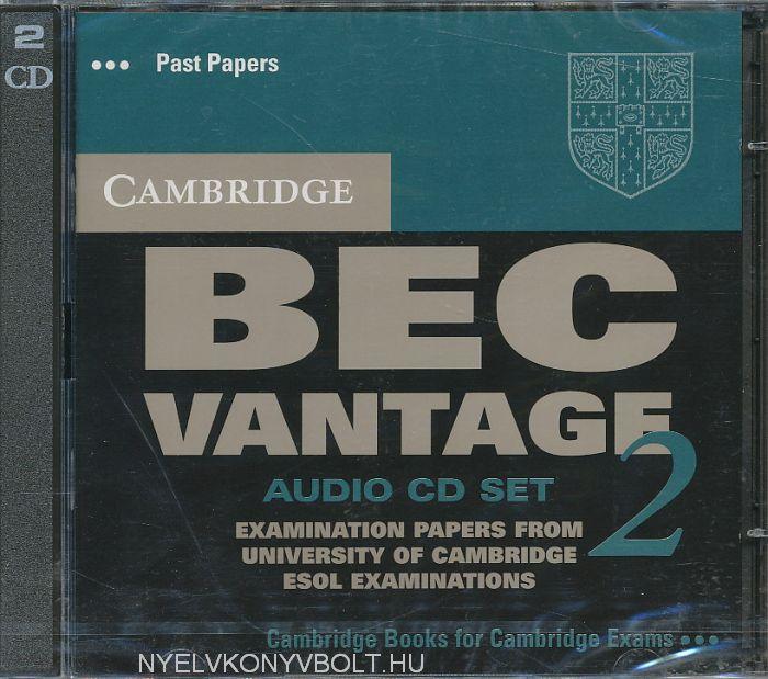 Cambridge BEC Vantage 2 Official Examination Past Papers Audio CD