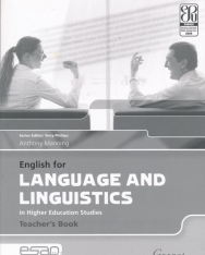 English for Language and Linguistics in Higher Education Studies Teacher's Book