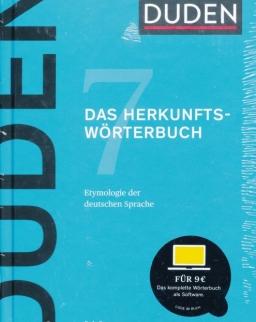 Duden 7: Das Herkunftswörterbuch: Etymologie der deutschen Sprache 6. Auflage