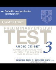Cambridge Preliminary English Test 3 Official Examination Past Papers 2nd Edition Audio CDs (2)