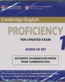 Cambridge English Proficiency 1 for Updated Exam Audio CDs (2)