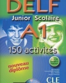 Nouveau DELF Junior & Scolaire A1 200 activités + CD audio