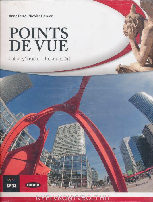 Points de vue : Culture, société, littérature, art +audio CD