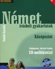 Készüljünk az érettségire! Német írásbeli gyakorlatok Középszint Átdolgozott kiadás CD-melléklettel Nat 2012