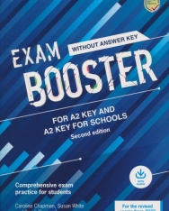 Cambridge English Exam Booster for A2 Key and Key for Schools without Answer Key with Audio - Comprehensive Exam Practice for Students