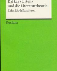 Kafkas »Urteil« und die Literaturtheorie: Zehn Modellanalysen