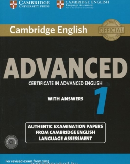 Cambridge English Advanced 1 with Answers and Audio CDs(2) - For Revised exam from 2015