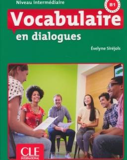 Vocabulaire en dialogues - Niveau intermédiaire - Livre + CD - 2eme édition