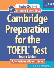 Cambridge Preparation for the TOEFL Test iBT Edition Book with CD-ROM and Audio CDs