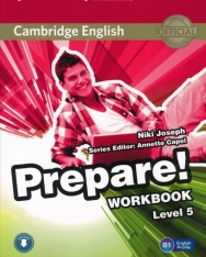 Cambridge English Prepare! Workbook Level 5 with Downloadable audio