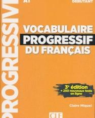 Vocabulaire progressif du français - Niveau débutant - 3eme édition - Livre + CD + Appli-web