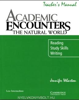Academic Encounters - The Natural World Teacher's Manual