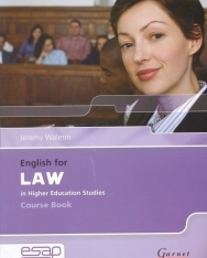 English for Law in Higher Education Studies Course Book with Audio CDs (2)