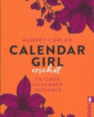 Audrey Carlan: Calendar Girl - Ersehnt: Oktober/November/Dezember (Calendar Girl Quartal, Band 4)