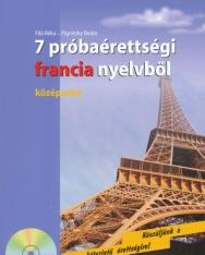 7 próbaérettségi francia nyelvből - középszint - Audio CD-vel (MX-217)