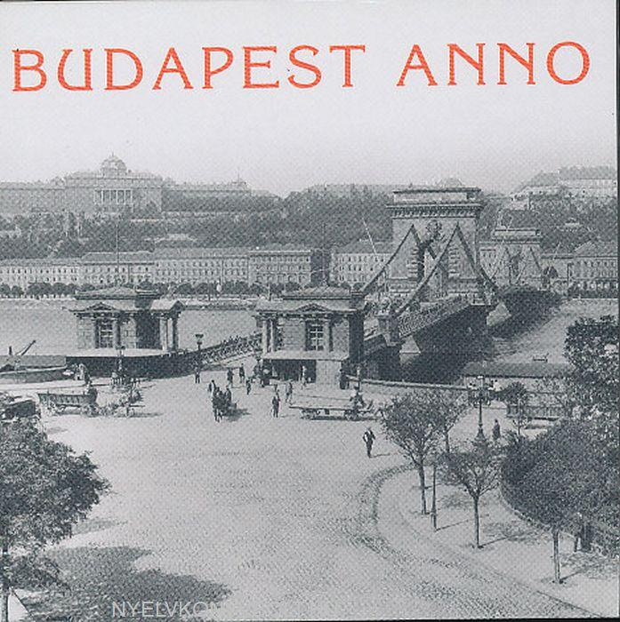 Budapest anno naptár (mágneses, 8x8 cm)