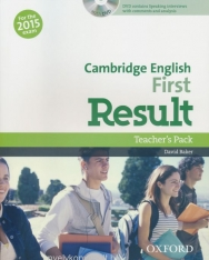 Cambridge English First Result Teacher's Pack with DVD - For the 2015 Exam