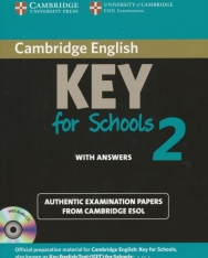 Cambridge English Key (KET) for Schools 2 Student's Book with Answers & Audio CD