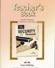 Career Paths - Security Personnel Teacher's Guide