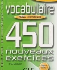 Vocabulaire 450 nouveaux exercices Intermédiaire Livre+corrigés
