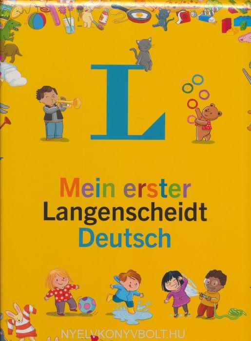 Mein erster Langenscheidt Deutsch - Erstes Wörterbuch für Kinder ab 3 Jahren