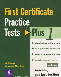 First Certificate Practice Tests Plus 1 with Key with Audio CDs