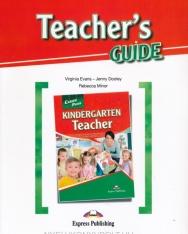 Career Paths - Kindergarten Teacher - Teacher's Guide