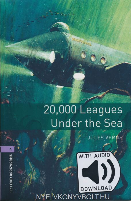 20.000 Leagues under the sea with Audo Download - Oxford Bookworms Library Level 4