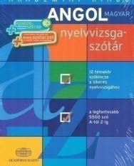 Angol-magyar nyelvvizsgaszótár - 12 témakör szókincse a sikeres nyelvvizsgához + hangosszótár + internetes szótár hozzáférés