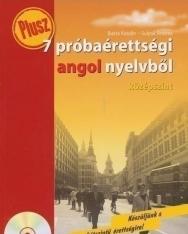 Plusz 7 próbaérettségi angol nyelvből - középszint - Audio CD-vel